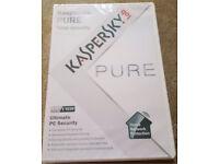 Kaspersky 3 user pure OFFER ME