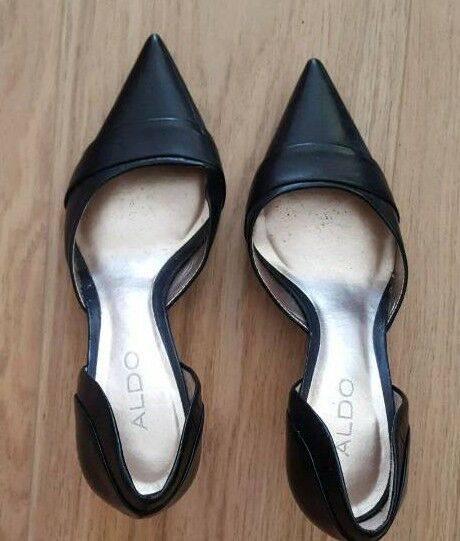 ALDO women's leather heels- UNWORN- size 3- ladies shoes