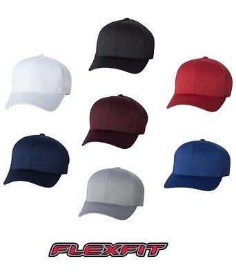 Flex Fit Athletic Hat (Flexfit 6777 Fitted Athletic Mesh Cap Hat  )