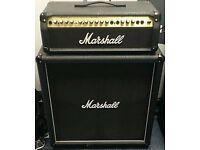 Marshall 100 watt 4x12 Half Stack. £200.
