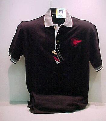 Gm Licensed Pontiac Chief Black/white Polo Shirt