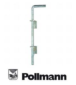 Pollmann Bodenschieber 600 mm Torriegel Bolzenriegel Riegel Bodenschubriegel