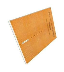 "Schluter Systems 1/2"" x 48"" x 96"" Kerdi Board - Waterproof Polystyrene foam building panel"