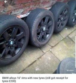 """Bmw alloys 16"""""""