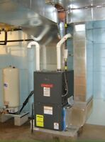 Furnace and A/C /Hot Water Tank repairs/ replacement