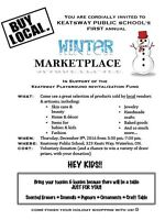 Keatsway Public School's 1st Annual Winter Marketplace