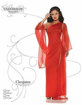 Underwraps Women's Cleopatra Egyptian Pharaoh Red Dress Costume - XL