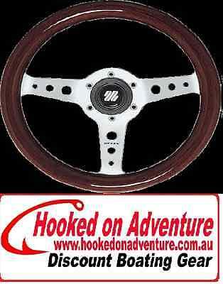 Steering Wheel Ultraflex® Capri Wood Grip