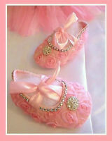 Brand new baby shoes and headband