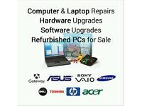 Laptop / PC / computer / desktop Upgrades Repairs and Fixes - Competitive Prices