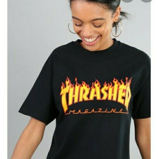 NEW Thrasher Skating Magazine Flame Women