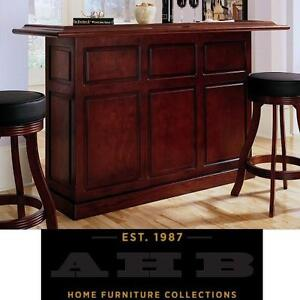 NEW* AHB LEXINGTON BAR STAND - 119678570 - AMERICAN HERITAGE BILLIARDS SUEDE FINISH BARS STANDS FURNITURE DECOR CABINET