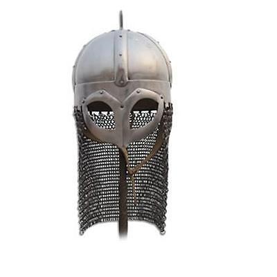 Norway Viking Gjermundbu Helmet Suitable for Re-enactment, Stage Costume or LARP