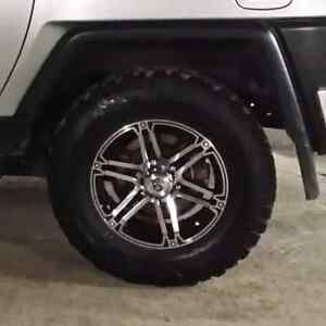 Set of 5 Tire and rims