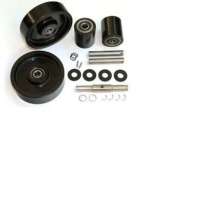 Dayton 2ze57 Pallet Jack Complete Wheel Kit