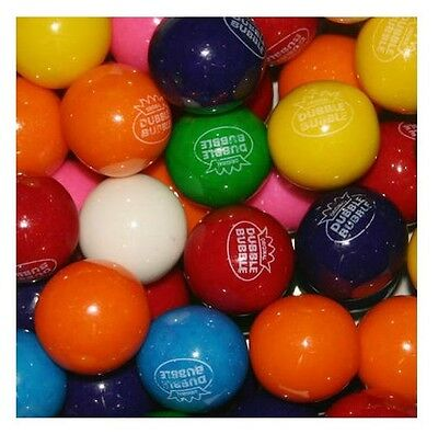 """Dubble Bubble ASSORTED Gumballs Bulk 850 pcs 1"""" 24mm Approximately 15 Pounds"""