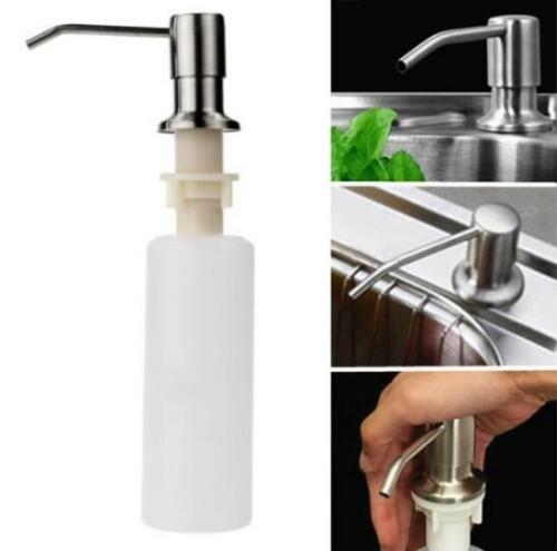 Liquid Soap Dispenser Lotion Pump Cover Built in Kitchen Sin