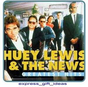 *NEW SEALED* HUEY LEWIS AND THE NEWS ( GREATEST HITS ) CD BACK IN TIME 21 TRACK