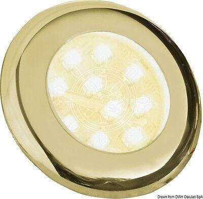 Batsystem Golden ABS Built-in Satin Glass Lens Nova Spotlight 10W 12V w/o Switch