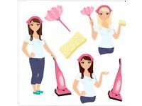 Frilly's cleaning services!