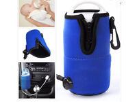 Baby car bottle warmer
