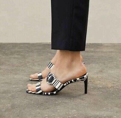 ZARA GENUINE FLAT zapatos with BOW 6 US US US BNWT BLOGGERS
