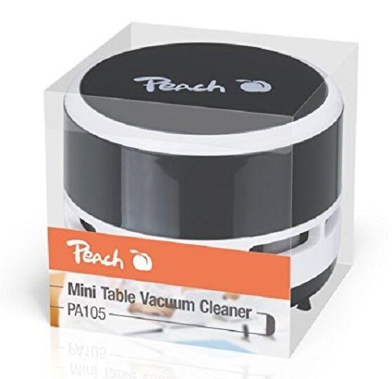 Peach Pa105 Mini Aspirapolvere Aspirabriciole Portatile Da Tavola