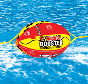 Booster Ball for Towables 4K (for tubing behind speed boat)