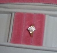 Diamond Engagement Ring 14 KT Gold