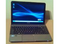 Toshiba Core i3 laptop. 4Gb ram, Webcam, HDMI, Windows 7