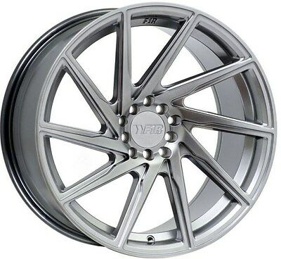 F1R F29 17X8.5 +38 5X114.3 HYPER BLACK RIM FIT 240SX RSX TSX CIVIC SI RX8 IS300
