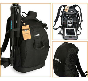 New-Waterproof-Camera-Backpack-Insert-14-Laptop-Bag-For-Canon-Sony-Nikon-DSLR