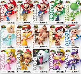 Super Mario Amiibo ALL 15 (nfc cards)