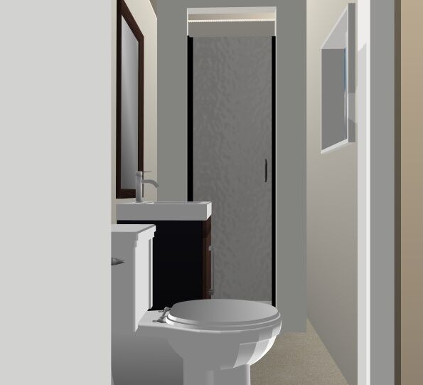 Ready Made Bathroom Toilet Shower Room Just Connect And