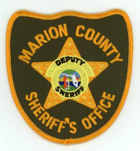 MARION COUNTY SHERIFF FLORIDA FL NICE NEW COLORFUL PATCH POLICE