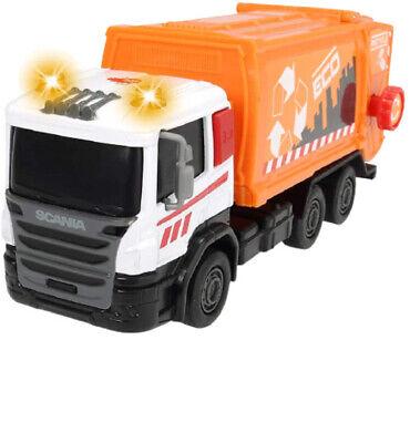 Dickie Toys Scania City Team Müllauto Müllwagen Lastwagen Müllabfuhr Kinder 8585