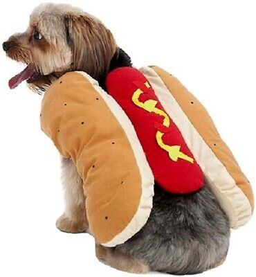 Doggie Costumes For Halloween (Halloween  Hot Dog Costumes for Dogs - Extra Small 8