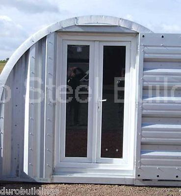 Durospan Steel 16x22x11 Metal Building Shop Kit Diy Home Sheds Open Ends Direct