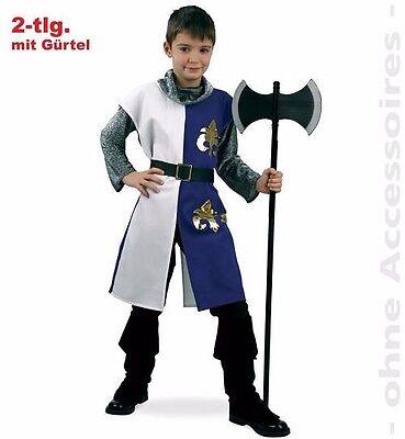 Ritter-Kostüm Chevalier Kids Set Verkleidung Fasching Krieger Gurimo Tex (Kid Ritter Kostüm)