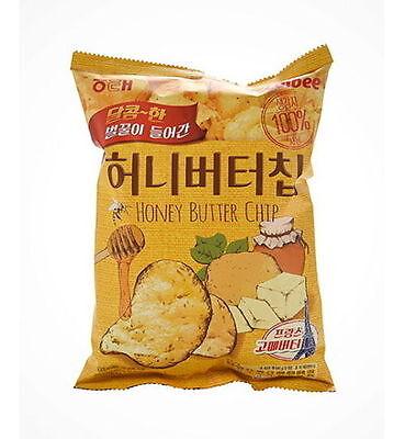 Calbee Haitai Bite Size Honey Butter Seasoned Potato Chip 60g Korean Snack igee