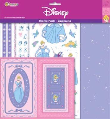 Princess Scrapbook Kit (SANDYLION Scrapbooking 12x12 Album Scrapbook Kit PRINCESS CINDERELLA )