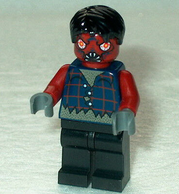 HALLOWEEN #10 Lego Evil Demonic Zombie NEW Bloodshot Eyes & White Fang CLOSE OUT - Halloween Closeout