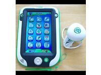 Leappad Leapfrog ultra green free case good condition