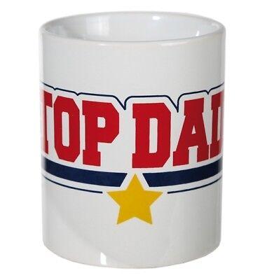 Kaffeebecher Top Dad American Style Kaffeetasse Tasse Vatertag