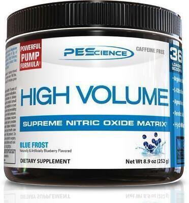 PEScience High Volume - Caffeine Free Pump Pre Workout (Caffeine Free)