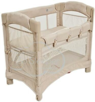 Arm's Reach Mini Ezee™ 2 IN 1 Co-Sleeper® Toffee