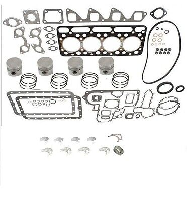 Engine Overhaul Kit Std For Kubota L3600 Series Tractors