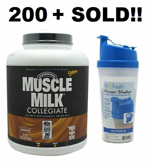 Cytosport Muscle Milk Collegiate Protein 5.29 lb - Free Ship