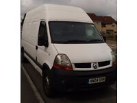 RENAULT Master 2.5 Dci, lwb / high roof, towbar; NEW clutch, timing belt, tyres, oil and filters!!!