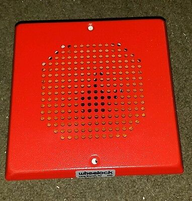 1 Wheelock Ch70-24-r Ch7024r Red Chime 24vdc 108684